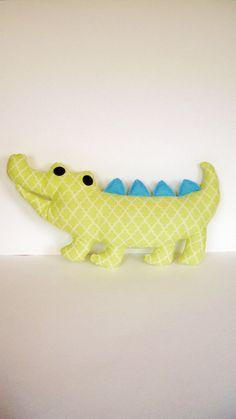 stuffed alligator