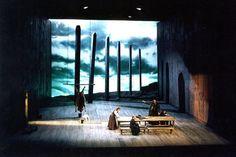 Boris Godunov. New Israel Opera. Set design by Roni Toren. 1994