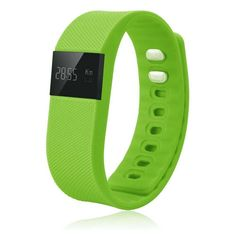 W-inds 1105 Bluetooth Fitness Tracker for Keep Health,Green * You can get additional details at the image link.