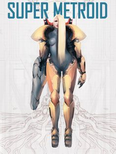 samus aran - Super Metroid