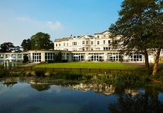 A stylish country spa hotel near Cheltenham Race Course, with breakfast and three-course dinner