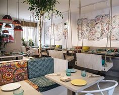 WEBSTA @ thevenuereport - RESTAURANT REPORT | BOHO BAR | Madrid Spain. Can't you…
