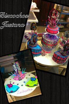 . Monster High Cakes, Birthday Cake, Desserts, Food, Tailgate Desserts, Deserts, Birthday Cakes, Essen, Postres