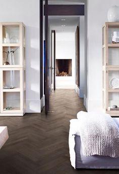 Piet Boon Flooring by Solidfloor - visgraat vloer Terra. Houten vloer #solidfloor #pietboon #houtenvloer #visgraat #interieur