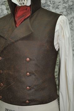 If I were a man I would wear this vest everyday. I wonder if I can find it styled for women... #steampunk #Vest #SweeneyTodd