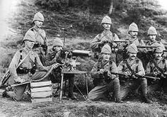 British Soldiers in Boere War