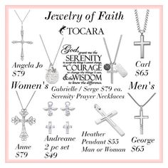 """""""Jewelry of Faith"""" by angela-walsh-i on Polyvore featuring women's clothing, women, female, woman, misses and juniors"""