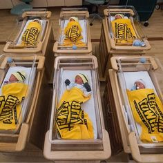 "Newborns at Magee-Womens Hospital of UPMC are shown with Terrible Towels after being ""inducted into Steeler Nation"" by Magee staff on Friday, Jan. 13, 2017. (@akrimage 