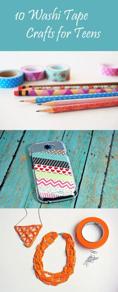 10 Washi Tape Crafts for Teens - Craftfoxes