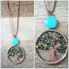 A personal favorite from my Etsy shop https://www.etsy.com/listing/453758154/multi-colored-copper-tree-necklace