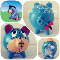 - Little Pigs Workshop Personalized Piggy Bank, Sarah Kay, Little Pigs, Ideas Para, Workshop, Pasta Das, Piggy Banks, Hand Crafts, Gifts