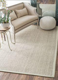 Maui Sisal & Wool SM01 Natural Rug