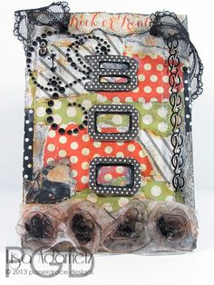 Boo Decor Wall Hanging. Designed for @Design Memory Craft by Lisa