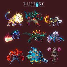 Creatures 3, Fantasy Creatures, Pixel Life, Pixel Characters, 8 Bit Art, Anime Pixel Art, Pixel Art Games, Creature Concept Art, Weird Art