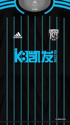 Soccer Kits, Football Kits, West Bromwich Albion Fc, Football Wallpaper, Atari Logo, Adidas Logo, Logos, Nice, Sports