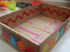 Making Boys Men: Marble Maze - craft to go with jesus lost & found in the temple