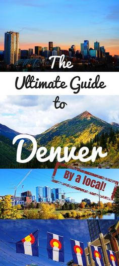 The Ultimate Denver Travel Guide (by a local) - Learn where to stay in Denver, things to do in Denver, Colorado, what to eat in Denver, and the best Denver ares in this comprehensive guide written by a local!