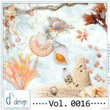 Vol. 0016 - Beach Mix  by Doudou's Design  #CUdigitals cudigitals.com cu commercial digital scrap #digiscrap scrapbook graphics