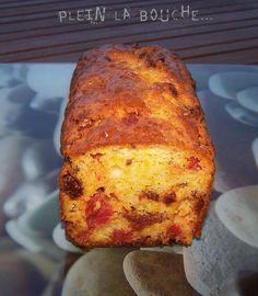 Cake Chorizo Olive Thermomix