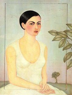 Frida Kahlo (Portrait of her sister Cristina)