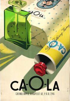 CA-O-LA Chemolimpex - art by Győző Szilas (1960) [552800]
