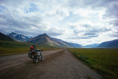 riding a motorcycle 11,000 miles into the Alaskan Arctic