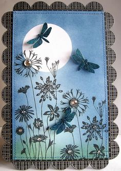 Butterflies' Cousins?  ------------------------------------------------- Moonlight and Dragonflies by heather maria, via Flickr