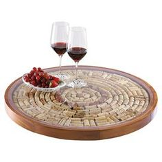 Elba Wine Cork Tray - seriously that's what it's called ;). I may have to get one.