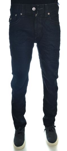 True Religion Mens Skinny Jeans Size 34 in Necessary Evil NWT $264 #TrueReligion #SlimSkinny