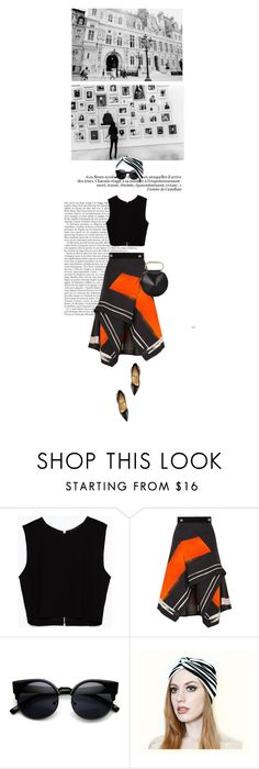 """01.16"" by manaswitha ❤ liked on Polyvore featuring Zara, Peter Pilotto, Christian Louboutin, 3.1 Phillip Lim, women's clothing, women's fashion, women, female, woman and misses"
