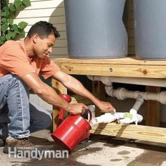 Taking care of a yard is hard work and can be expensive. Save money by building your own rain barrel (for less than $100!). Get complete how-to instructions from Family Handyman and start saving water with the next rainfall! Its eco-friendly AND wallet-friendly!