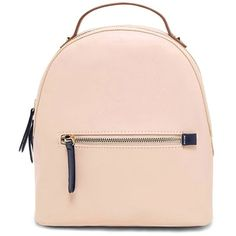 Forever21 Faux Leather Mini Backpack ($25) ❤ liked on Polyvore featuring bags, backpacks, faux leather rucksack, forever 21 bags, pink faux leather backpack, vegan backpack and forever 21