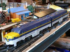 Gilbert American flyer trains