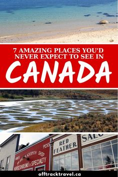There's more to Canada than mountains, moose and maple syrup! Here are 7 amazing places that challenged my preconceived ideas of Canada Canada Eh, Visit Canada, Cool Places To Visit, Places To Go, Yukon Territory, Victoria Island, Worldwide Travel, Whale Watching, Vancouver Island
