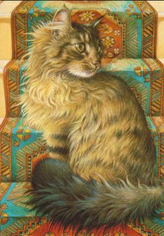 Cats in Art - Lesley Anne Ivory