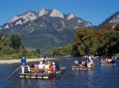 Day Trip from Zakopane (and the area) to the Pieniny National Park with rafting through the Dunajec Gorge on the traditional, wooden rafts. Rafting Tour, Central Europe, Travel Memories, Countries Of The World, Day Trips, National Parks, Scenery, Places To Visit, Tours