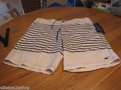 Men's O'Neill board shorts button draw string 28 hybrid casual surf skate off WH