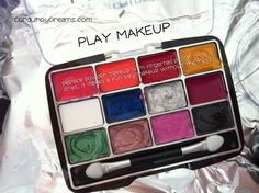 Non-messy play makeup, I'd have never thought of it on my own