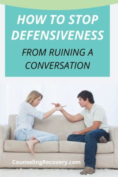 Defensiveness is a common but destructive habit that can be the start of communication problems. In this blog you'll learn how to lessen defensive reactions to keep your relationships healthy. #relationships #marriage #communication #conversation