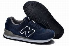 Joes New Balance US574 Sneakers Made In USA Deep Blue Mens Shoes