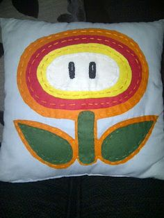 fire flower, super mario, mario brothers crafts