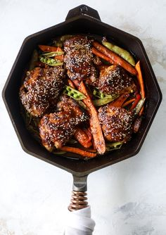 This one pan sesame chicken and veggies is so easy and delicious! It's the perfect weeknight meal that is packed with flavor. The chicken and veggies are great on their own but also wonderful when paired with brown rice or quinoa! Asian Recipes, Healthy Recipes, Delicious Recipes, Sesame Chicken, How Sweet Eats, Easy Dinner Recipes, Dinner Ideas, Meal Ideas, Weeknight Meals