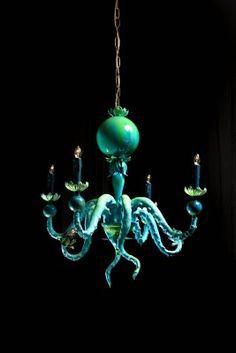 badass octopus chandeliers