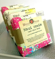 Maui+Wowie+Goats+Milk+Soap+Bar+by+WickedSoaps+by+WickedSoaps,+$6.00