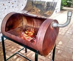 build your own barrel BBQ