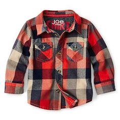 Joe Fresh™ for JCP -- little kids in plaid are just too much