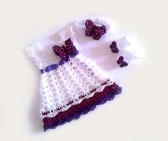 Häkeln Sie Baby Kleid Baby Kleid PatternDiy von paintcrochet