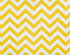 1m Premier Prints Fabric - Zig Zag Corn Yellow / Slub PER METRE chevron curtain | eBay
