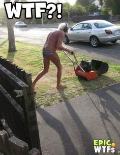 funny lawn mowers pictures - Google Search