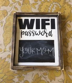 Hand Painted Wood Sign White Background Black Writing Black Chalkboard Box Size: 12x14 Sign Comes With Hook To Hang (You Attach) All Orders Have A 2 Week Production Time Design Copyright JaxnBlvd 2017